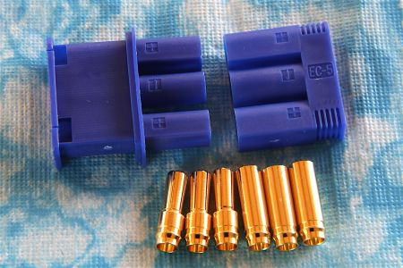 CE5/3 Goldstecker 5 mm (3 Pol)